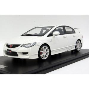 onemodel 1/18  ホンダ シビック TypeR FD2 後期 White CVIC タイプR ホワイト|mimiy