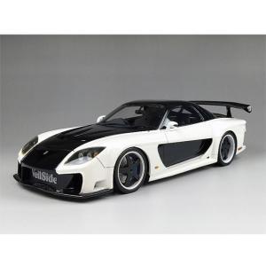 onemodel 1/18 Veilside RX7 ホワイト FD3S ミニカー ワンモデル|mimiy