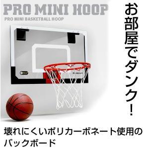 バスケットゴール スプリング付きリング搭載 5インチバスケットボール付 プロミニフープ PRO MINI HOOP