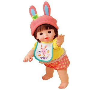 ぽぽちゃん お人形 やわらかお肌のよちよちぽぽちゃん うさぎファッション|mimiy