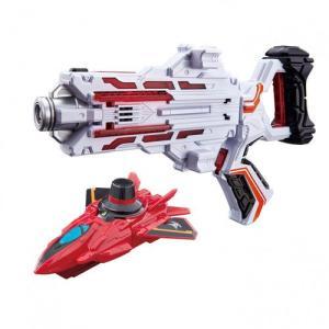 2つの戦隊が同じ武器で変身! 2戦隊共通の変身武器に、レッドダイヤルファイターが付属したセットです。...