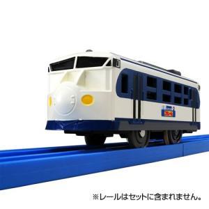 1両編成の商品です。 動力車で2スピード。オフにすると手でころがしで遊べます。  セット内容: 鉄道...