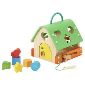 あそびのおうち カタチ・数あそび かぎあそび 型はめあそび そろばんあそび 犬とボールでおうちあそび 木製玩具 木のおもちゃ|mimiy