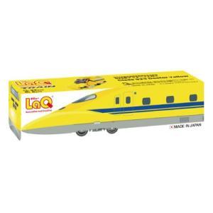LaQ(ラキュー)  トレイン 923形ドクターイエロー|mimiy
