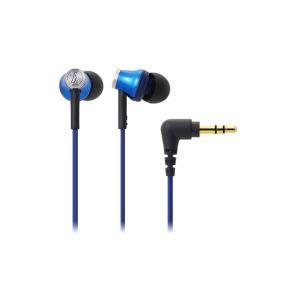audio-technica オーディオテクニカ インナーイヤーヘッドホン ATH-CK330M BL(ブルー)|mimiy