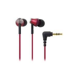 audio-technica オーディオテクニカ インナーイヤーヘッドホン ATH-CK330M RD(レッド)|mimiy