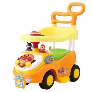 アンパンマン よくばりビジーカー 押し棒+ガード付き 乗用玩具 乗り物|mimiy