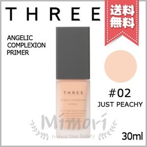 【送料無料】THREE スリー アンジェリックコンプレクションプライマー #02 JUST PEAC...