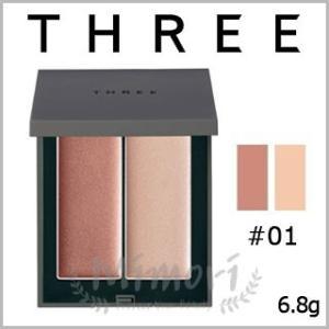【 商品名 】 THREE スリー シマリング グロー デュオ #01               ...