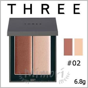 【 商品名 】 THREE スリー シマリング グロー デュオ #02               ...