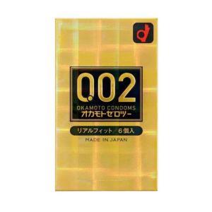 オカモト ゼロツー 0.02ミリ リアルフィット 6個入り コンドーム 男性用避妊具|minacolor2