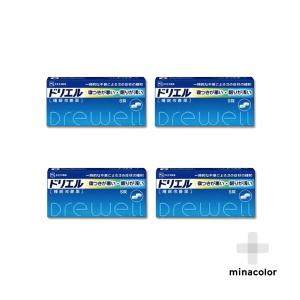 ドリエル 6錠 市販の睡眠改善薬 (指定第2類医薬品)×4個セット|minacolor2