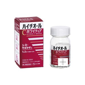 ハイチオールCホワイティア 120錠 ×5個 しみ そばかすの改善薬 (第3類医薬品)|minacolor2