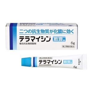 テラマイシン軟膏a 6g 医療用と同成分 化膿止め薬 (第2類医薬品)|minacolor
