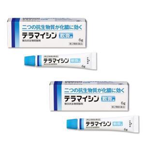 テラマイシン軟膏a 6g ×2個セット 医療用と同成分 化膿止め (第2類医薬品) ※1個から購入可|minacolor