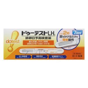 ドゥーテストLHa排卵日予測検査薬 7本 排卵日チェッカー 妊活に (第1類医薬品) ロート製薬|minacolor