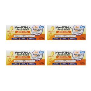 ドゥーテストLHa排卵日予測検査薬 7本 排卵日チェッカー 妊活に (第1類医薬品) ロート製薬 ×4個セット|minacolor