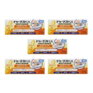 ドゥーテストLHa排卵日予測検査薬 7本 排卵日チェッカー 妊活に (第1類医薬品) ロート製薬 ×5個セット|minacolor