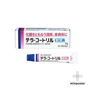 テラ・コートリル軟膏a 6g 処方薬と同じ成分 抗生物質配合 (指定第2類医薬品)|minacolor