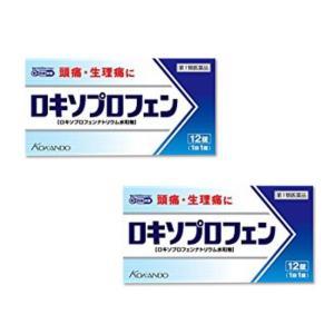 ロキソプロフェン錠「クニヒロ」12錠 ×2個セット 頭痛・生理痛に 痛み止め 解熱鎮痛剤 (第1類医薬品)|minacolor