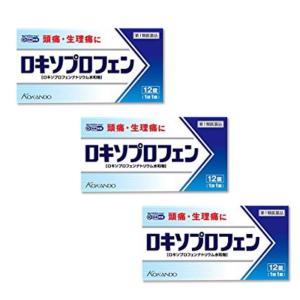 ロキソプロフェン錠「クニヒロ」12錠 ×3個セット ロキソニンSと同じ成分(第1類医薬品)|minacolor