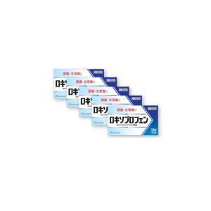 ロキソプロフェン錠「クニヒロ」12錠 ×5個セット ロキソニンのジェネリック(第1類医薬品)|minacolor