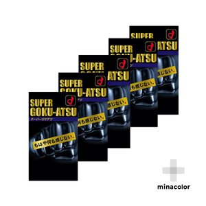 オカモト スーパーゴクアツ 10個入 男性用避妊具 ×5個セット|minacolor