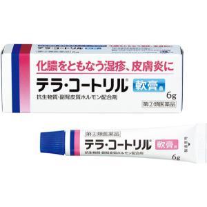 テラ・コートリル軟膏a 6g 処方薬と同じ成分 抗生物質配合 (指定第2類医薬品)