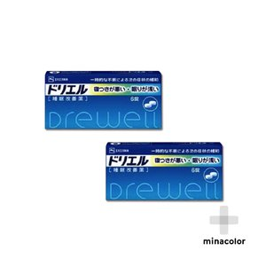ドリエル 6錠 市販の睡眠改善薬 (指定第2類医薬品)×2個セット|minacolor