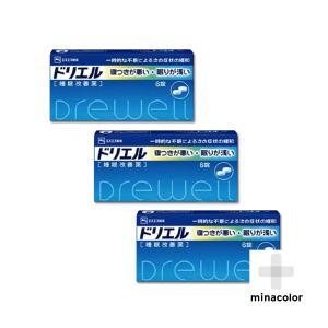 ドリエル 6錠 市販の睡眠改善薬 (指定第2類医薬品)×3個セット|minacolor