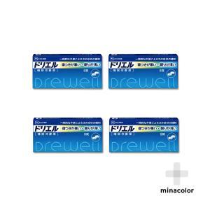 ドリエル 6錠 市販の睡眠改善薬 (指定第2類医薬品)×4個セット|minacolor