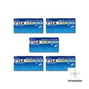 ドリエル 6錠 市販の睡眠改善薬 (指定第2類医薬品)×5個セット|minacolor