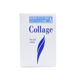 コラージュ A脂性肌用石鹸 100g ニキビ オイリー肌 洗顔 固形 石鹸 低刺激 「7日から14日で発送」|minacolor