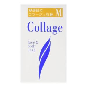 コラージュM石鹸 100g 敏感肌 低刺激 洗顔 固形 パッチテスト済 「7日から14日で発送」|minacolor