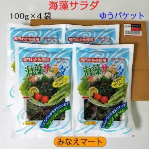 鳴門海藻サラダ 100g×4袋セット ゆうパケット minaemart