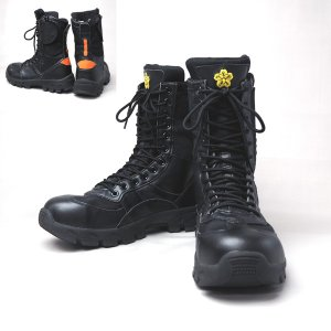 IWA 消防編上げ靴 PRIBON-プリボン 【消防団編上げ靴】|minakami119