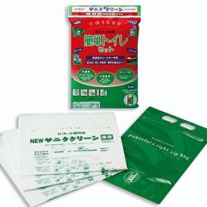 簡単トイレセット3枚入×10ヶ 【簡易トイレ】 minakami119