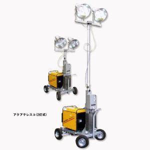 アクアテレスコ 2灯式 【避難生活用品】 minakami119