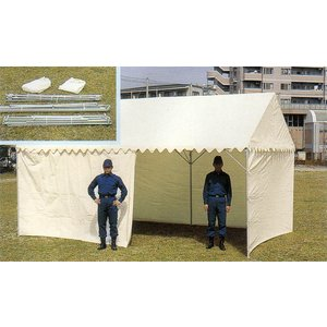 OK式テント1.5×2間 三方幕付 【避難生活用品】 minakami119