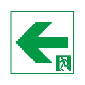 FK20086 通路用誘導灯表示板 両面用 「←□」 パナソニック製 誘導灯パネルプレート|minakami119