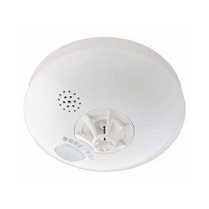 まもるくん10 熱式 音声警報タイプ 電池式 FSLJ014-B 【住宅用 火災警報器/住宅用 火災報知器】|minakami119