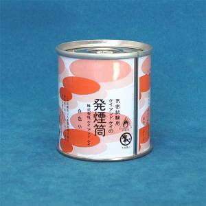発煙筒 白色 小 【防災用品・防災グッズ/消防設備用具】|minakami119