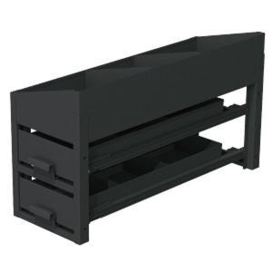 バンキャビネット(サイド棚) SCT-S02R 【車載用機材収納システム】|minakami119