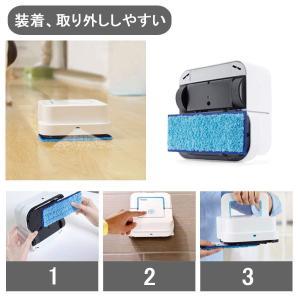 ブラーバジェット パッド 洗濯可能 ウェット 3枚セット 交換用 パッド iRobot Braava...