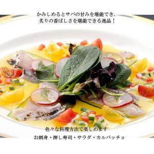 金華あぶりしめさば3枚入り(脂乗り抜群 ブランド鯖)|minamisanriku-hukko|04
