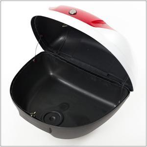リアボックス トップケース バイク ホワイト 白 51L ヘルメット2個収納|minasamashop|04