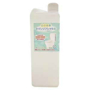 天然果汁酵素配合 トイレ消臭洗浄剤 トイレリフレッシュ 2L ボトル 10倍希釈タイプ|minato-life