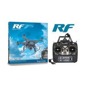 リアルフライト7.5 インターリンクエディション(モード1送信機、DVD付属) RealFlight 7.5 R/C Simulator|minato-m