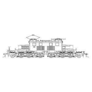 造形村 SRS EF13凸形 省形電氣機関車 戦時型 原形・PS13パンタ装備 16番|minato-m