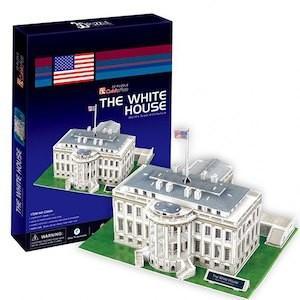 3Dクラフト ホワイトハウス C060H 組み立てキット  ハートアートモデル|minato-m